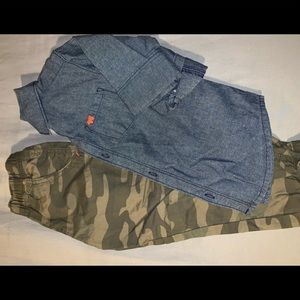 Boys 4T Carters Outfit